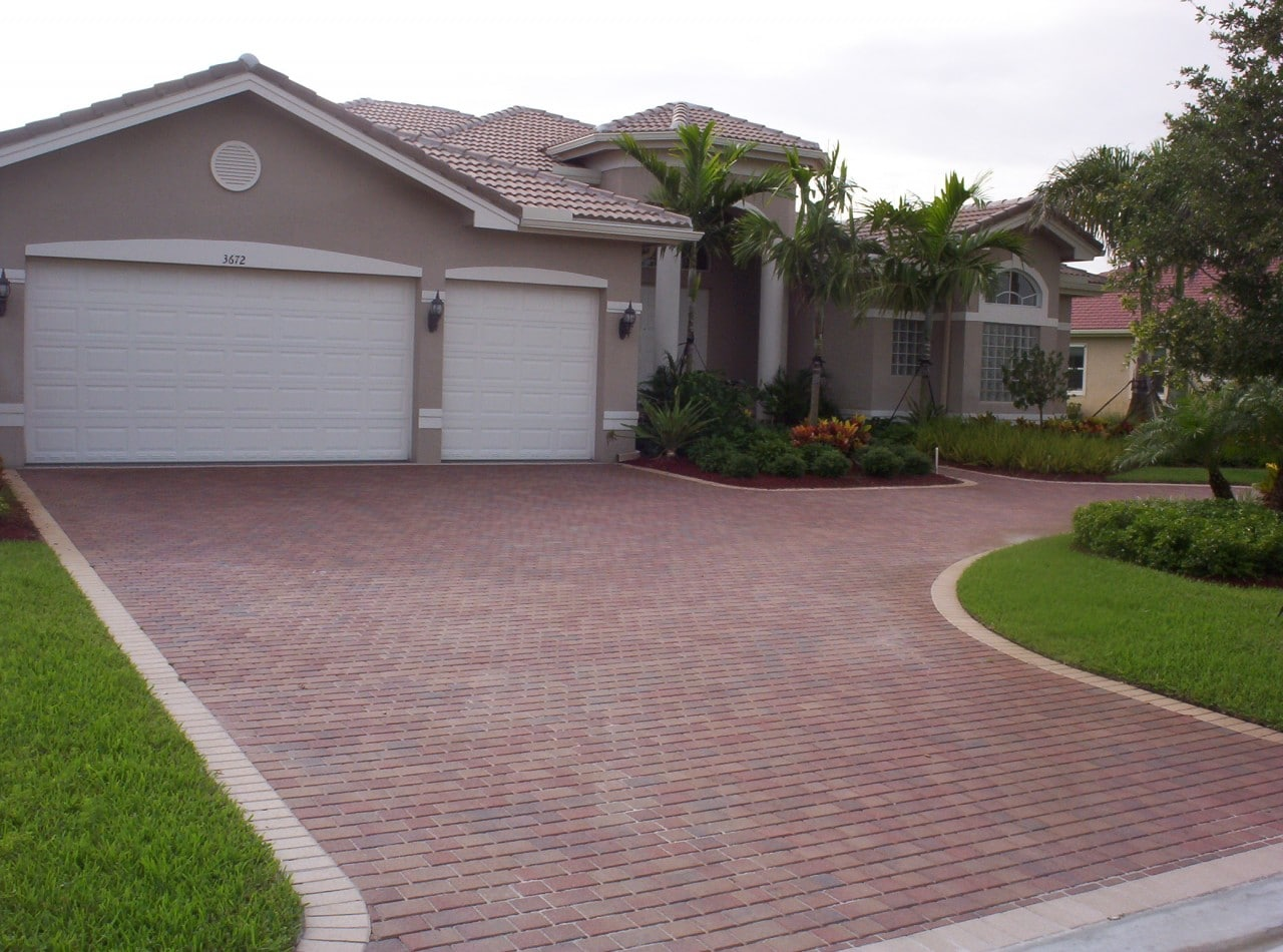 interlocking concrete pavers - brick america
