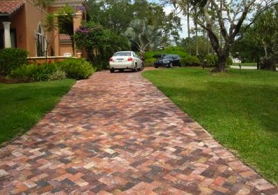 Old Chicago Clay Pavers Colombian