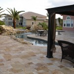 Gold Travertine Pavers