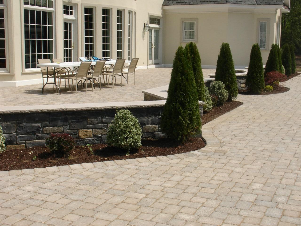 interlocking concrete pavers - brick america