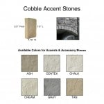 Cobble Accent Stones