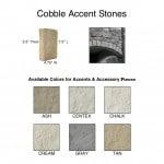 Cobble Accent Stones