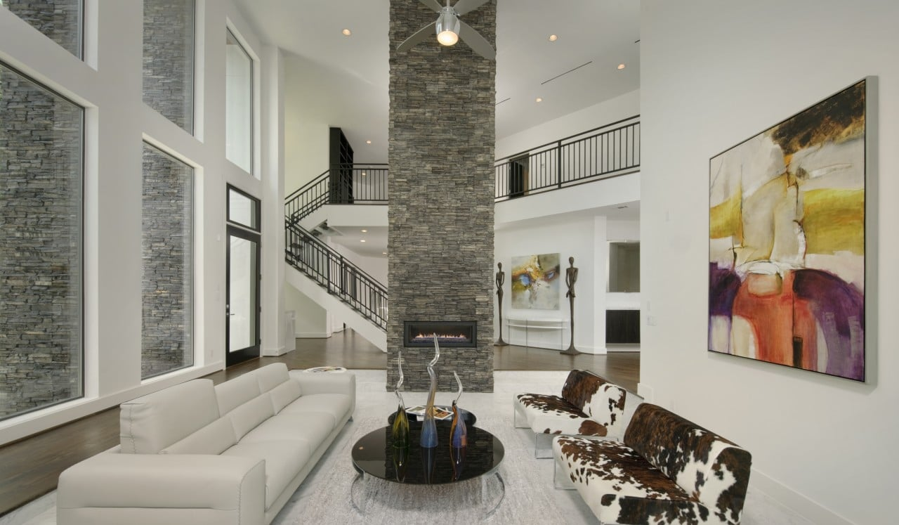 Feature Fireplace Wall Ideas