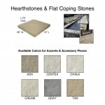 Hearthstones & Flat Wall Coping Stones