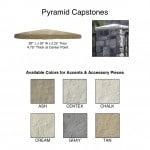Pyramid Capstones