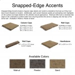 Snapped-Edge Accents