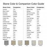 Stone Color & Companion Color Guide