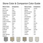 Stone Color & Companion Color Guide