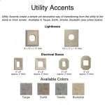 Utility Accents