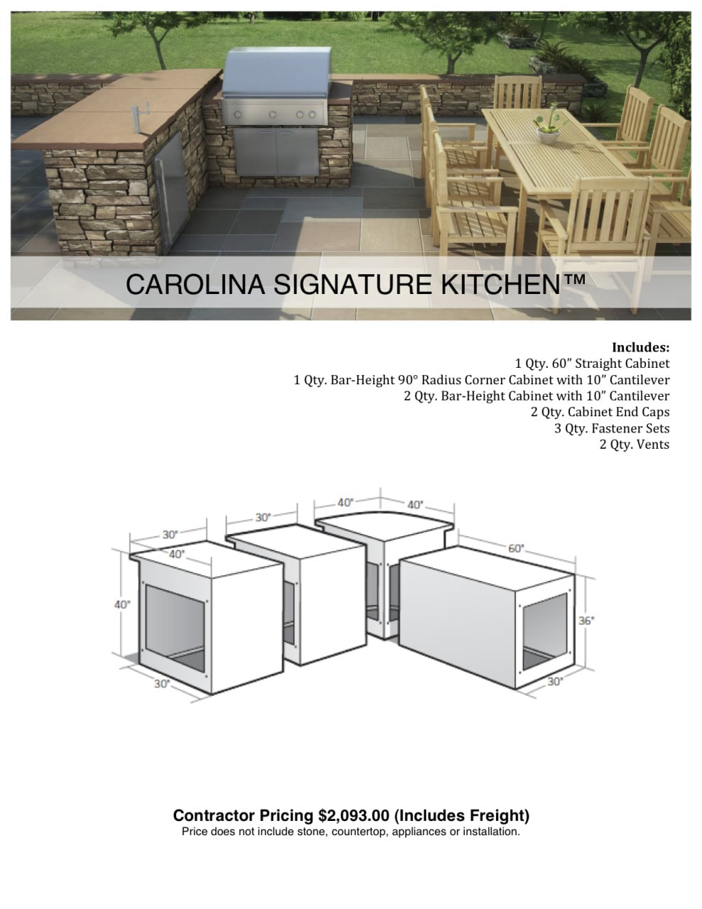 Outdoor Kitchens - Brick America