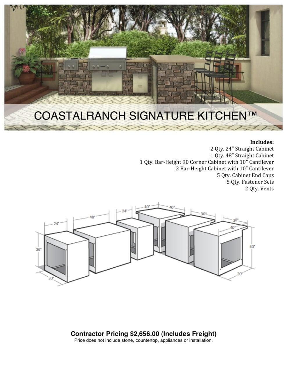 Eldorado Coastalranch Signature Kitchen