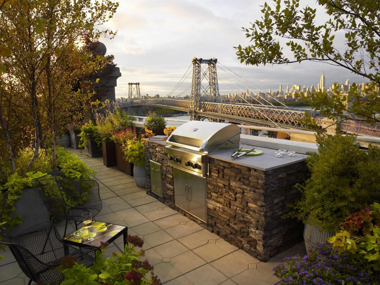 Signature outdoor living spaces brick america metropolitan outdoor kitchen baanklon Gallery