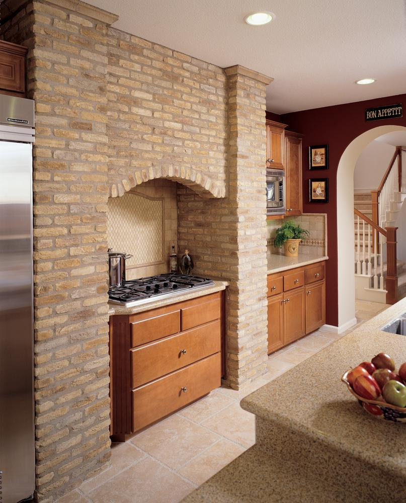 Kitchen Pictures For Wall: Brick America