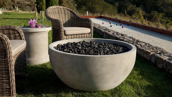 Artisan fire bowls for Eldorado fire bowls