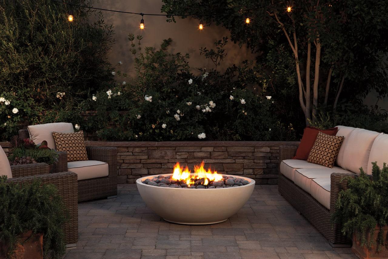 Artisan fire bowls for Eldorado outdoor fire bowl