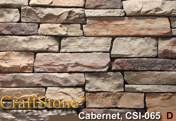 Cabernet Stacked Ledgestone