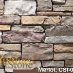 Merlot Stacked Ledgestone