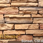 Sunset Stacked Ledgestone