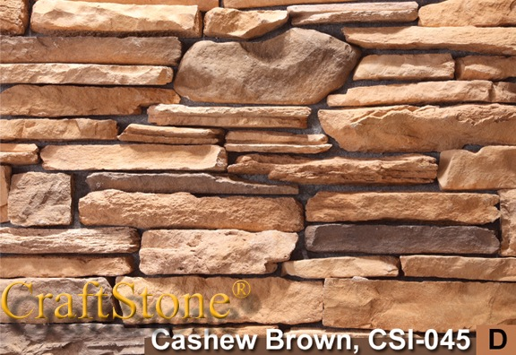Cashew Brown Mountain Ledgestone
